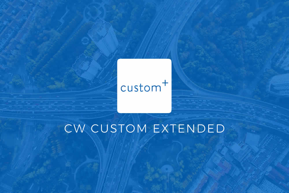 Introducing CW Custom Extended!
