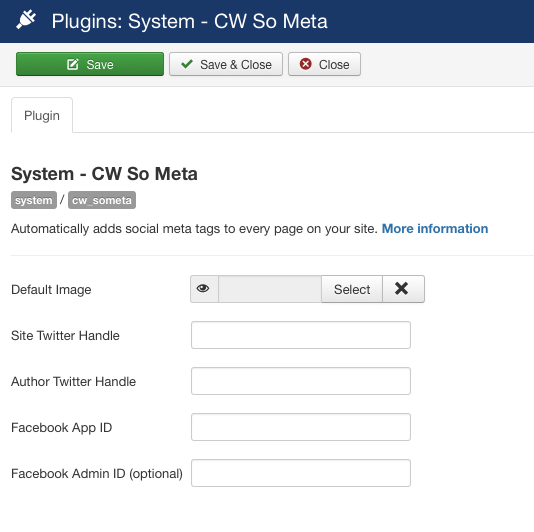 screenshot joomla plugin cw so meta configuration